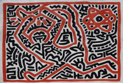 Tapis Untitled 1 ou Homme courant