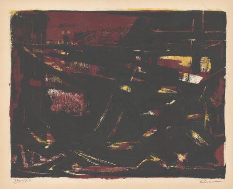 """Composition, du portfolio """"Douze lithographies"""""""