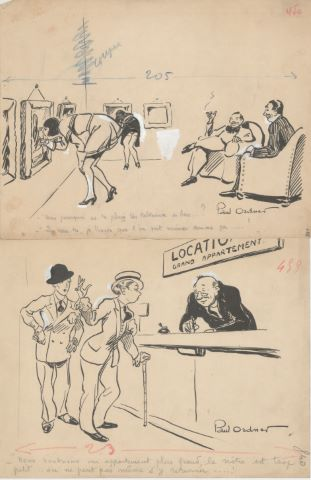 4 dessins humoristiques