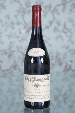 1 bouteille 2002, Clos Rougeard (Frères Foucault)