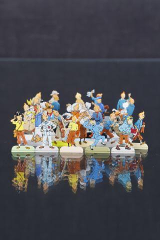 Ensemble de figurines Tintin