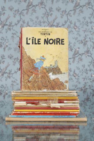 14 albums de Tintin