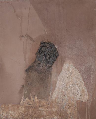 Sans titre, Cavalier (fond gris)