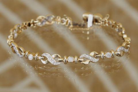 Bracelet ligne articulé