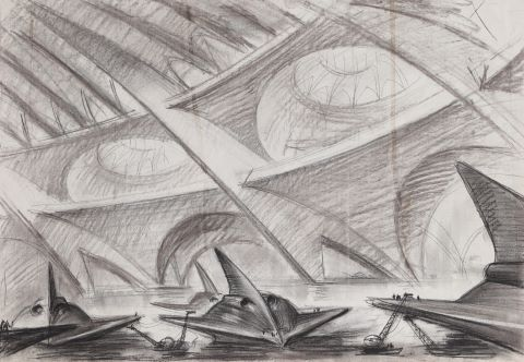 Chantier naval fantastique
