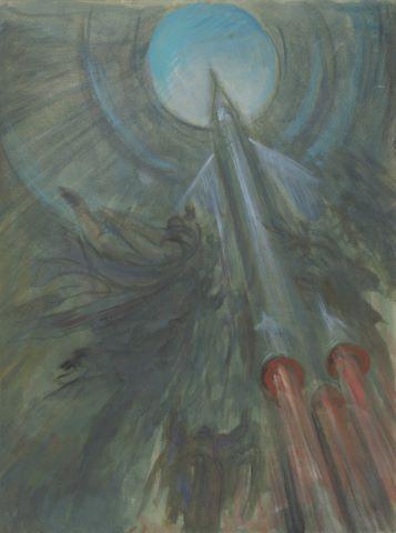 Décollage de fusée
