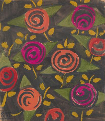 Fleurs - étude pour Bianchini-Ferier