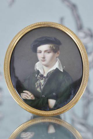 Miniature - Portrait de Cyrille de Nowsky (?)