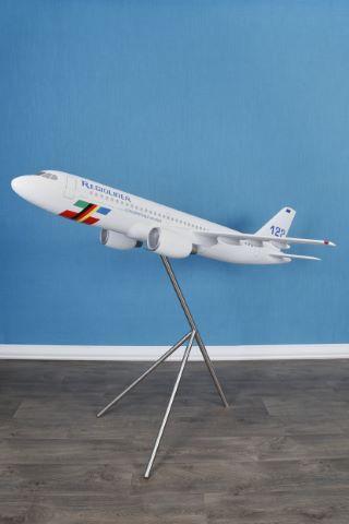 Grande maquette d'exposition de l'avion Regioliner DAA 122
