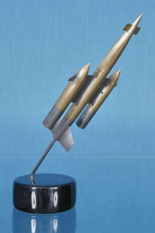 Maquette de soufflerie du missile cible CT.40/CT.41 réalisée par Nord Aviation entre 1957 et 1962