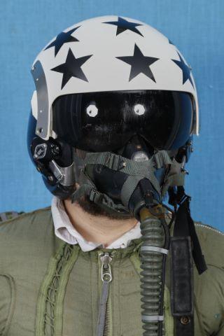 Casque de pilote américain