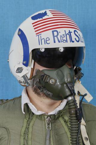 Casque de pilote de l'USAF « The Right Stuff »