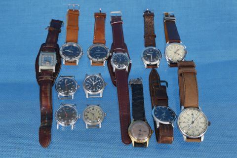 13 montres militaires