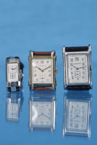 3 montres bracelet Art Déco
