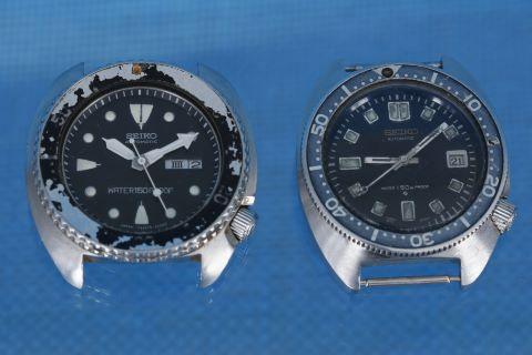 2 montres bracelet de plongée