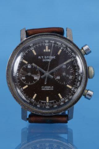 Chronographe bracelet, modèle Derby