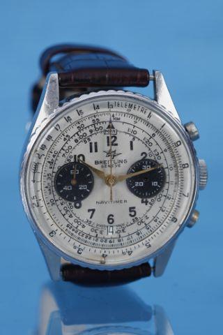 Chronographe bracelet, modèle Navitimer
