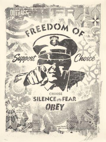 Choose silence or fear