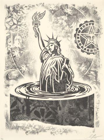 Sinking Liberty