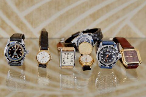 8 montres bracelet de dame
