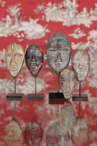 5 masques passeport