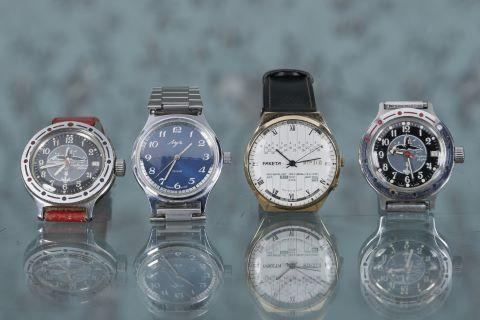 4 montres