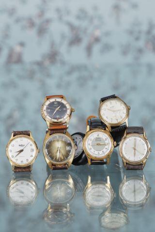 Lot de 7 montres