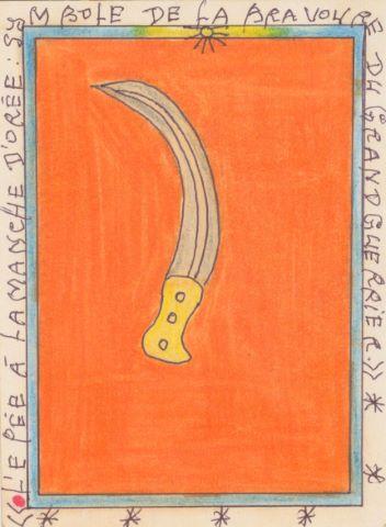 L'Épée à la manche dorée : symbole de la bravoure du grand guerrier