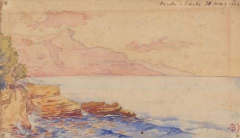 4 dessins de paysages