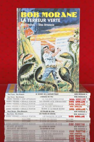 12 albums de Bob Morane