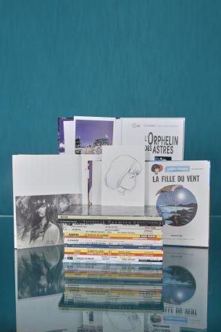 20 albums avec ex-libris numérotés et signés
