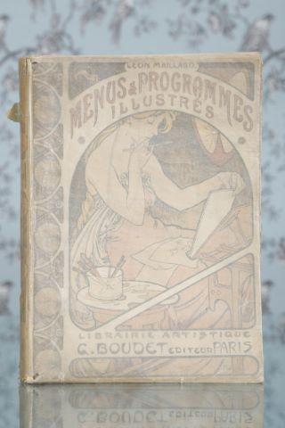Menus et programmes illustrés