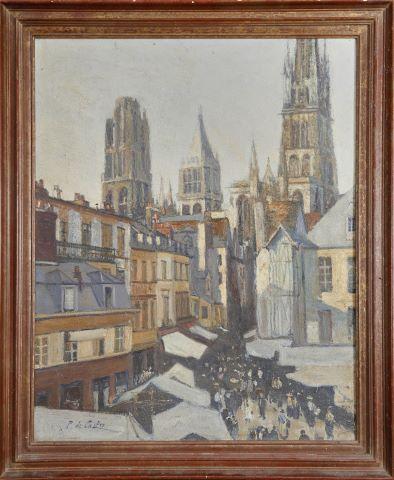 Vue de la cathédrale de Rouen