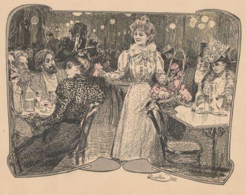 Femme au Moulin Rouge
