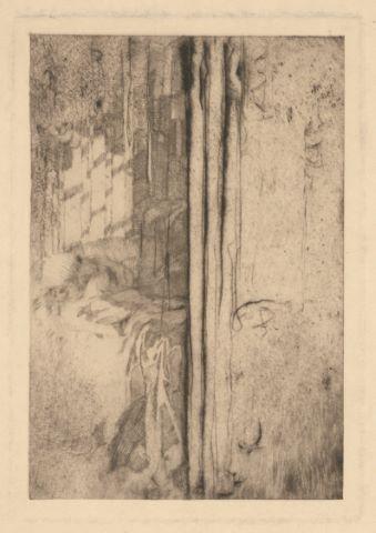 La Dormeuse, illustration du poème de Stéphane Mallarmé