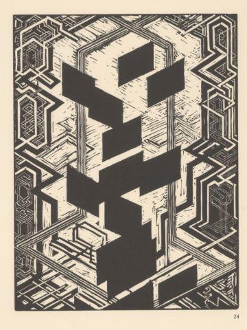 Planche pour quatre histoires en noir et blanc / Čtyři příběhy černé a bílé