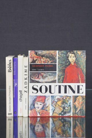 5 livres d'art
