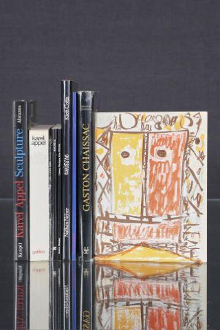 9 livres d'art