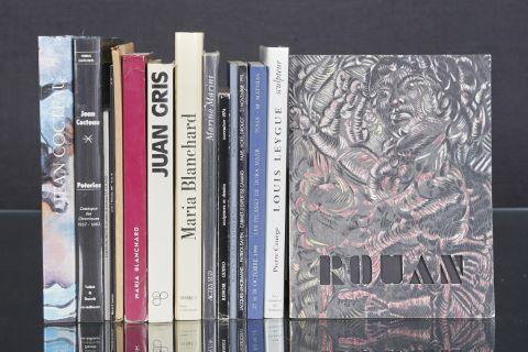 15 livres d'art et catalogues de vente