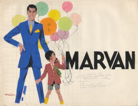 5 projets d'illustration pour Marvan