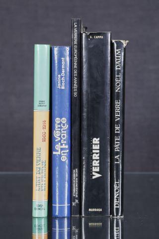 5 livres d'art sur le thème du verre (II)
