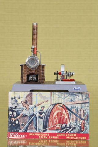 Machine à vapeur, modèle D8