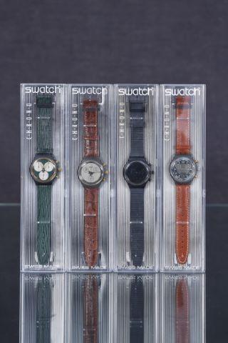 4 montres chronographes vintage