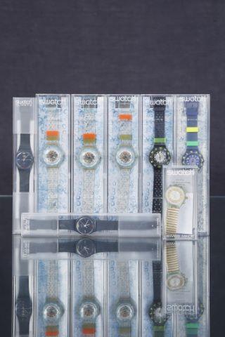7 montres + 1 chronographe vintage