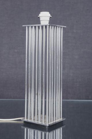 Pied de lampe cage