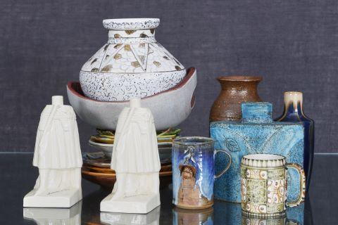Ensemble de 20 pièces en céramique
