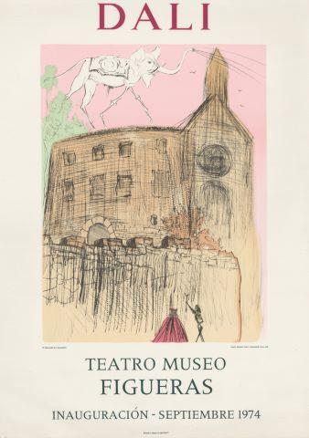 Affiche de l'exposition au Teatro Museo Figueras