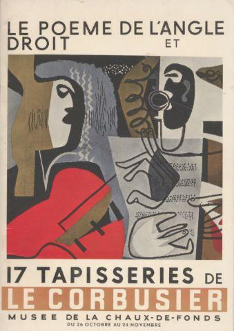 Poème de l'angle droit et 17 tapisseries de Le Corbusier