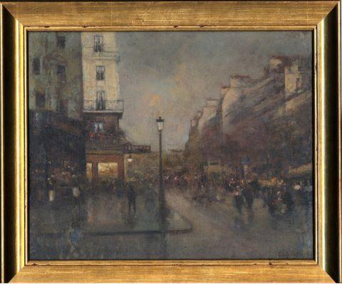 Paris, sur les grands boulevards