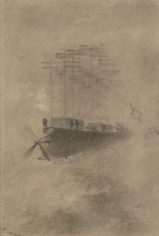 Robur-le-Conquérant de Jules Verne, lLAlbatros